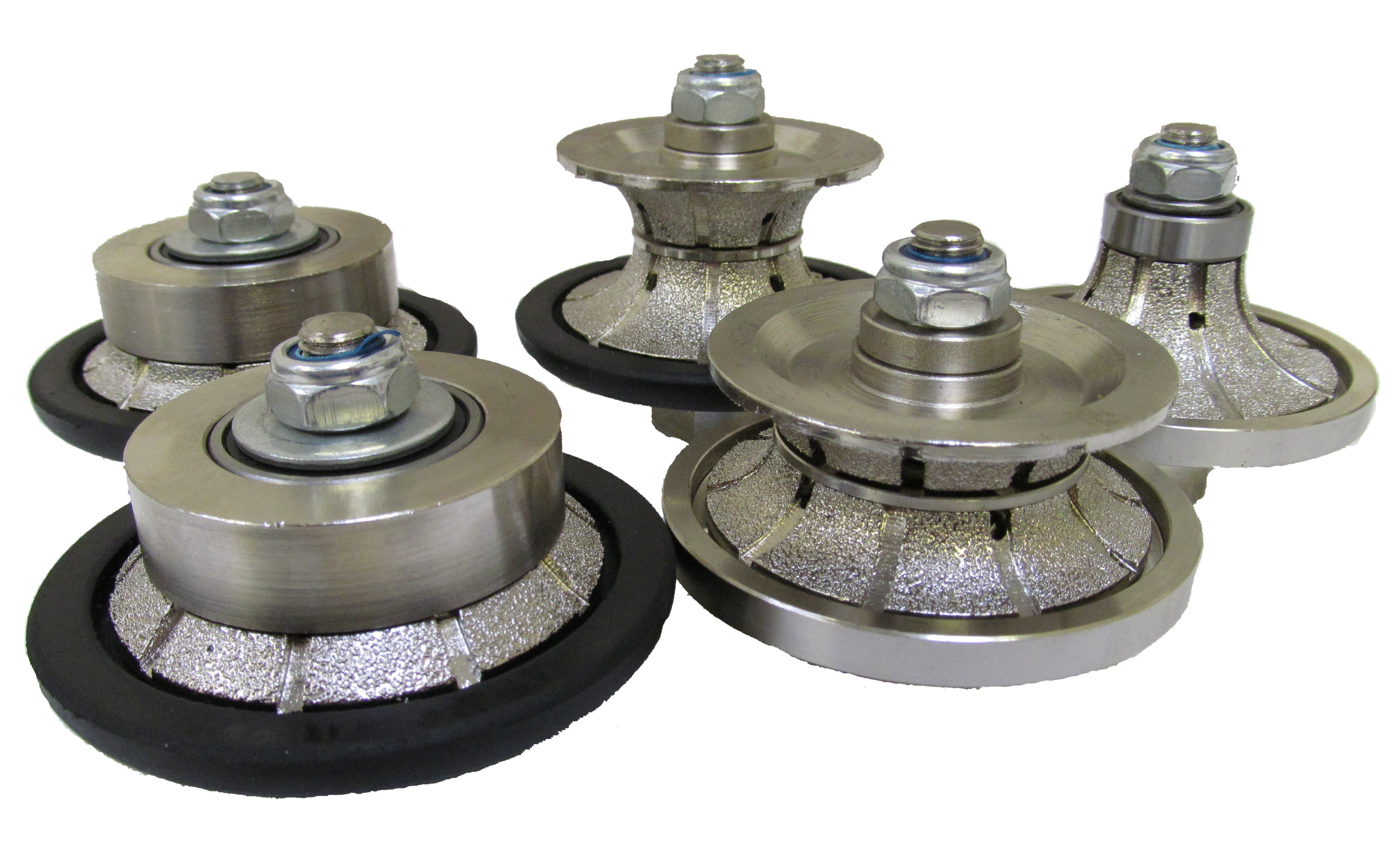 Diamond Profiling Router Wheels For Granite
