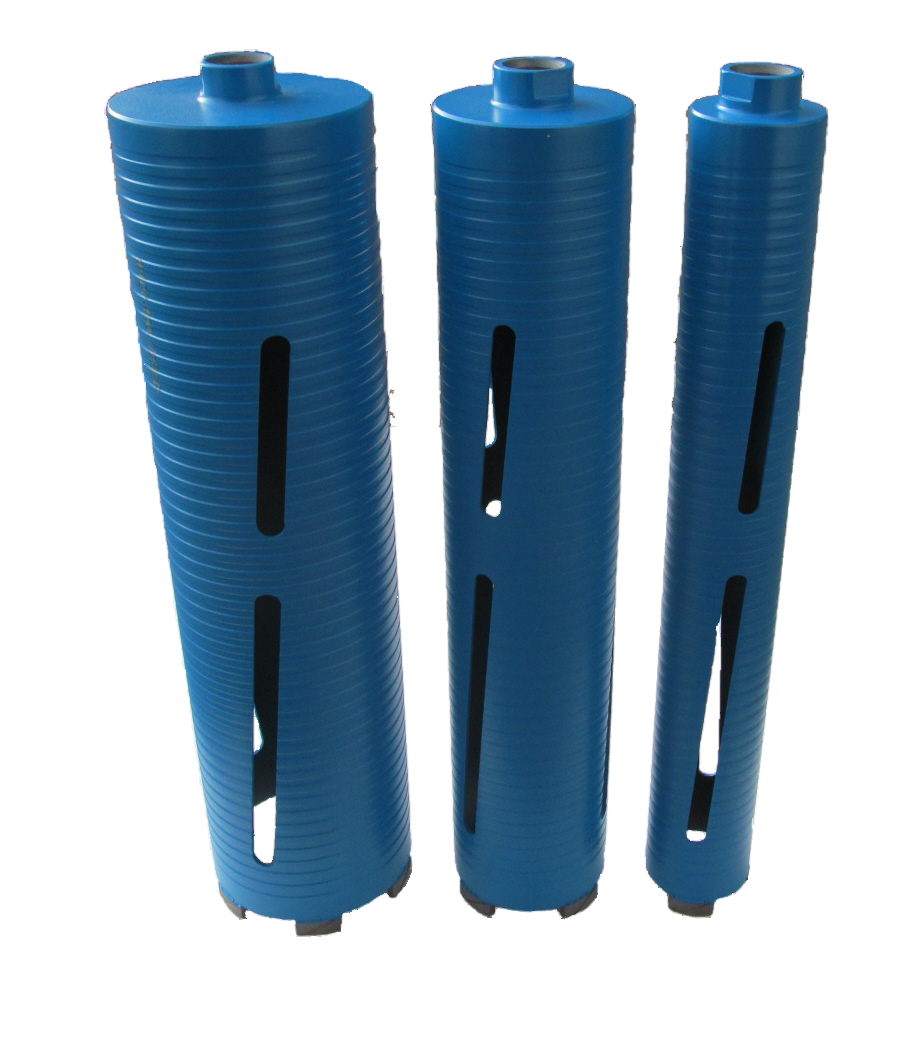 Extended Dry Diamond Core Bits For Deep Walls
