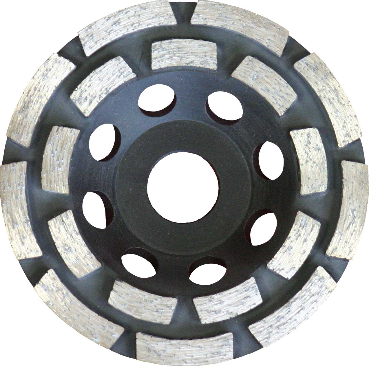 Diamond Grinding Discs: Double Row Segment