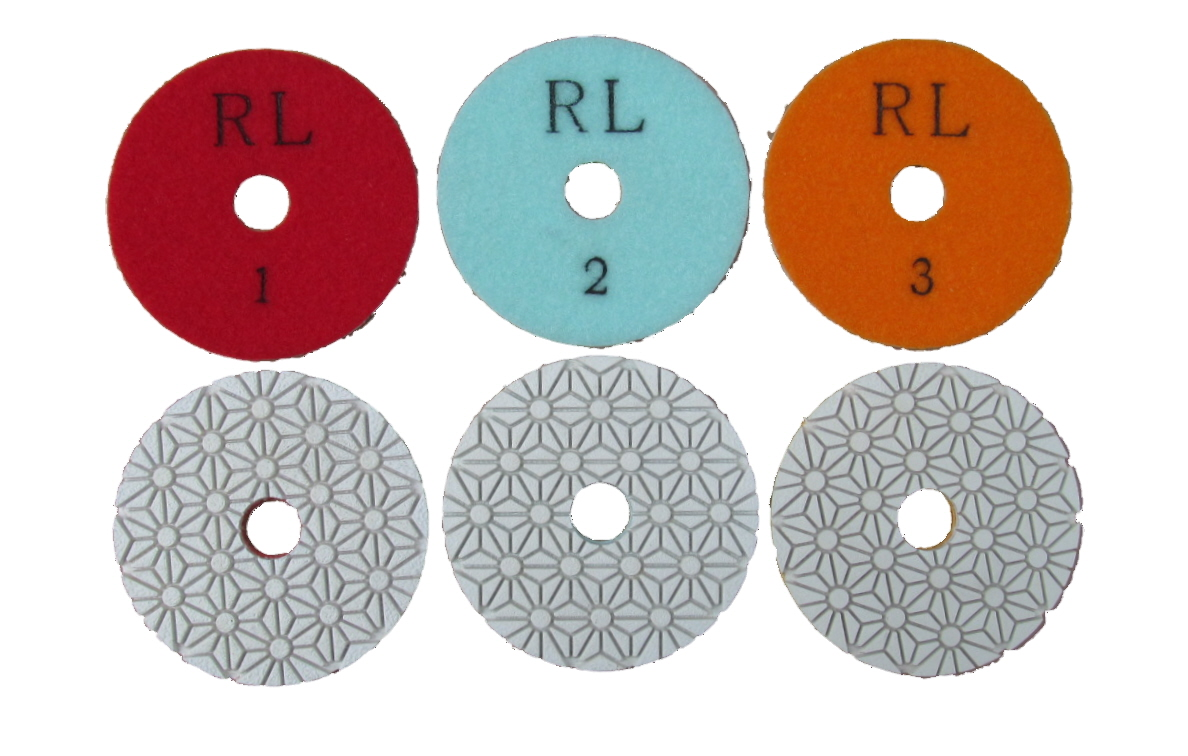3 Stage Diamond Polishing Pads